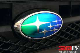 subaru chrome neo chrome emblem overlays 08 14 subaru wrx sti