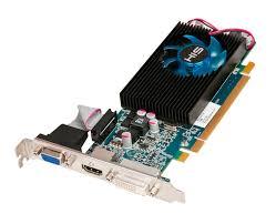 Vga Pci Express his 6570 fan 1gb ddr3 pci e dvi hdmi vga hd 6500 series desktop