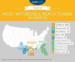 florida towns map the most affordable towns in 2016 smartasset