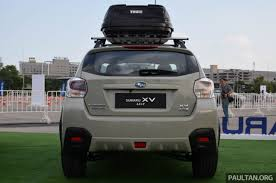 subaru thailand 2016 subaru xv facelift launched in bangkok m u0027sian debut set for