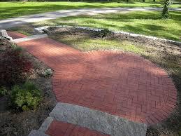 Herringbone Brick Patio Brick Walkways And Patios