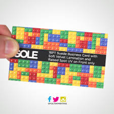 business cards raised spot uv suede business cards print by www foiltekprinting