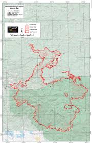 Nmsu Map Whitewater Baldy Fire Now Biggest In N M History Albuquerque