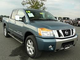 nissan titan extended cab used truck maryland for sale 2010 nissan titan le 4wd crew cab
