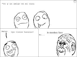 Monkey Face Meme - mis primeras vi祓etas humor taringa