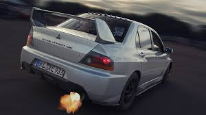 white mitsubishi lancer photos mitsubishi lancer evolution 8 white back view 2048x1152