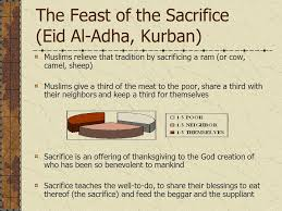 the feast of sacrifice eid al adha and muslim pilgrimage hajj