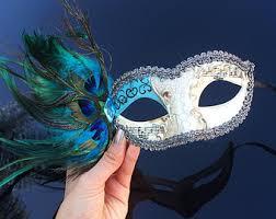 peacock masquerade masks peacock mask etsy