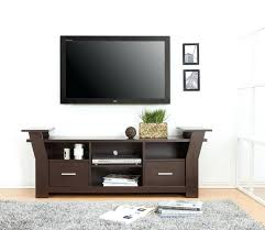 Wall Mounted Entertainment Console Tv Stand With Mount Wood U2013 Flide Co