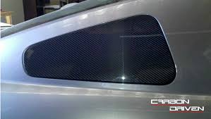 mustang window covers 2005 2009 mustang carbon fiber 1 4 window covers