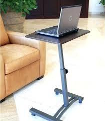 bed computer desk laptop desk table cart mobile tray over bed