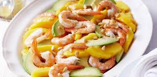 cuisine crevette salade mangue crevette facile recette sur cuisine actuelle