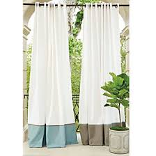 Drapes 120 Inches Long Indoor Outdoor Drapery Panel With Weighted Corners Ballard Designs