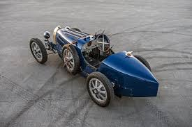 vintage bugatti race car pur sang type 35