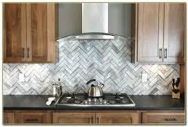 Steel Tile Backsplash by Stainless Steel And Glass Tile Backsplash Tiles Home