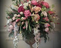 floral arrangement foyer table floral arrangements trgn f50c5cbf2521