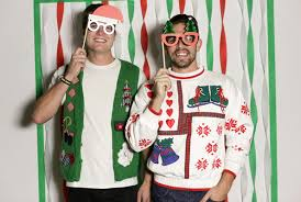 Christmas Party Host - how to host an ugly sweater party evite