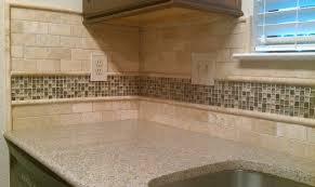 Stone Subway Tile Backsplash Tumbled Marble Backsplash Is - Travertine tile backsplash