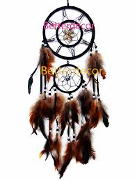amazon com handmade dream catcher with feathers wall hanging home