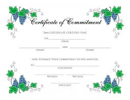 baby certificate maker gift certificate word