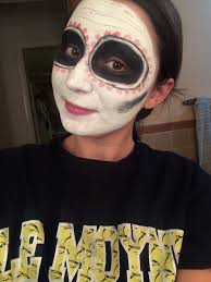 diy day of the dead makeup tutorial pints of life