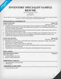 Inventory Specialist Job Description Resume Inventory Control Specialist Job Description Inventory Specialist