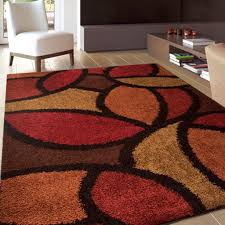 Chocolate Brown Area Rugs Rugs Burnt Orange And Chocolate Area Rugs Design Ideas With