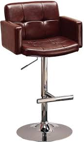 Modern Furniture Stores In Chicago by Upholstered Bar Chair With Adjustable Height Furniture Stores In