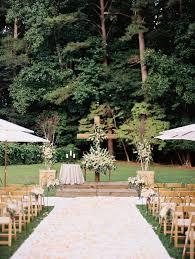 Outdoor Wedding Venues In Georgia Wedding Ceremony Little River Farms Georgia Wedding Venue