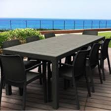 canap plastique table de jardin plastique canap jardin 2 places horenove avec