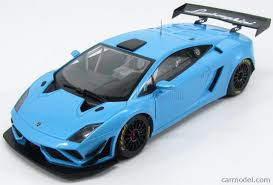Lamborghini Gallardo Blue - autoart 81359 scale 1 18 lamborghini gallardo gt3 fl2 2013 blue