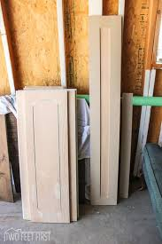 Cheap Kitchen Cabinets Doors Update Cabinet Doors To Shaker Style For Cheap Hometalk