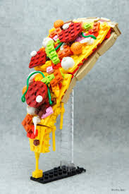 kitschy lego food sculptures will have you running kitchen