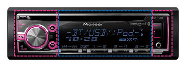 deh x6700bt cd receiver with mixtrax bluetooth siri eyes