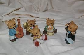 Home Interior Bears Homco 5 Orchestra Bears Band 1422 Home And 50 Similar Items