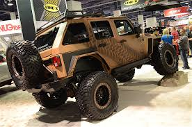 jeep kevlar sema 2015 the inside scoop on line x u0027s new 3 d spraying technique