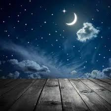 photography background sky moon background printed photography backdrop