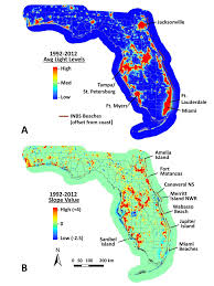 Amelia Island Florida Map by Show Florida Beaches Becoming Darker And That U0027s Good For Sea Turtles