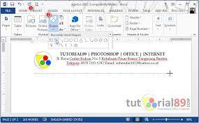cara membuat kop surat dan logo cara membuat kop surat otomatis disetiap halaman word video