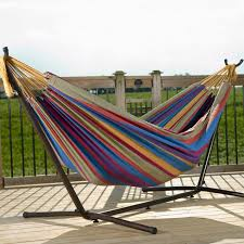 hammock for two with stand october 2017