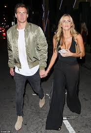 nightingale hollywood kayla reid and ryan lochte leave nightingale club in west