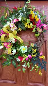 1205 best spring wreaths images on pinterest spring wreaths