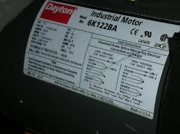 wiring diagram archived dayton 6k040f motor wiring diagram dayton