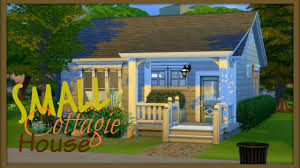 Small Cottage by Building My First House Sims 4 Speed Build Small Cottage House