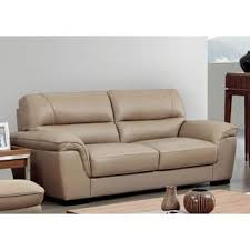 Beige Leather Loveseat Sophia Taupe Italian Leather Sofa And Loveseat Free Shipping