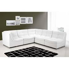 armless chair and ottoman set white sectional sofa set couch bonded leather armless chairs corners