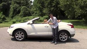 murano nissan nissan murano crosscabriolet a review youtube
