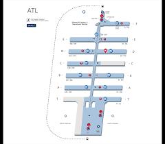 atlanta international airport map your guide to the atlanta airport delta air lines