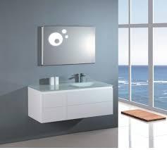 bathroom mirror lighting ideas bathrooms design modern brown stained wooden cabinet storage