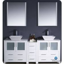 Bathroom Vanity With Side Cabinet Bathroom Vanities By Fresca